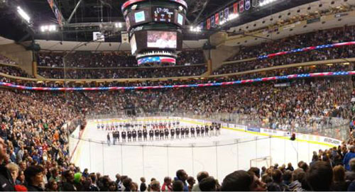 Xcel Center,  St. Paul, MN